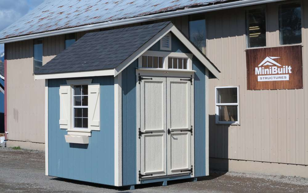 8x8 heritage Garden Shed