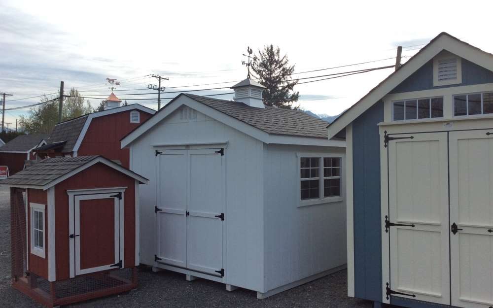 10x10 Classic Shed