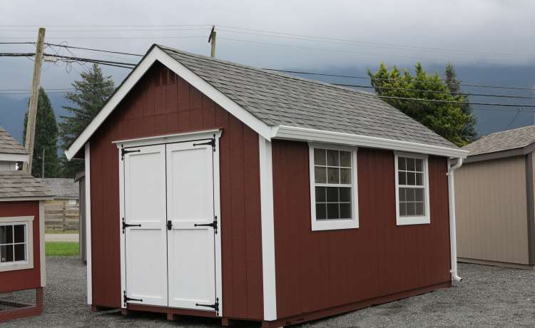 10x16 Heritage Garden Shed